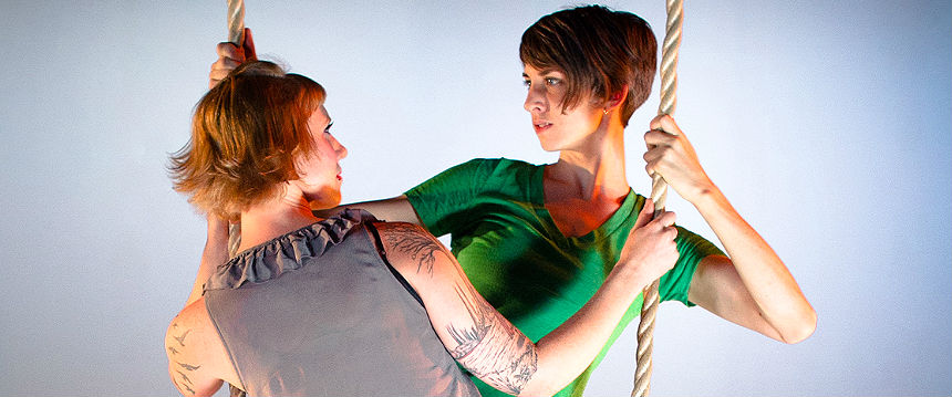 Tangle presents The Girl's Guide to Neighborly Conduct, all-new circus-theater at FringeArts