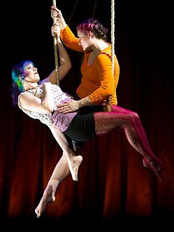 Tangle's circus-theater in the 2016 FringeArts Festival