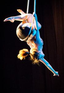 Tangle's aerial dance Points of Light, April 7-8