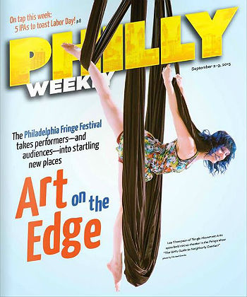 Tangle featured on the cover of Philadelphia Weekly