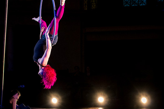 Tangle performing Invert!, photo by Michael Ermilio